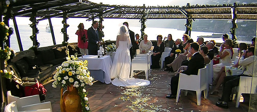 wedding Amalfi ceremony