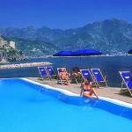 wedding Amalfi swiming pool