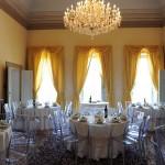 Sala per pranzo o cena di matrimonio
