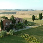 Panoramic view villa in cortona Tuscany