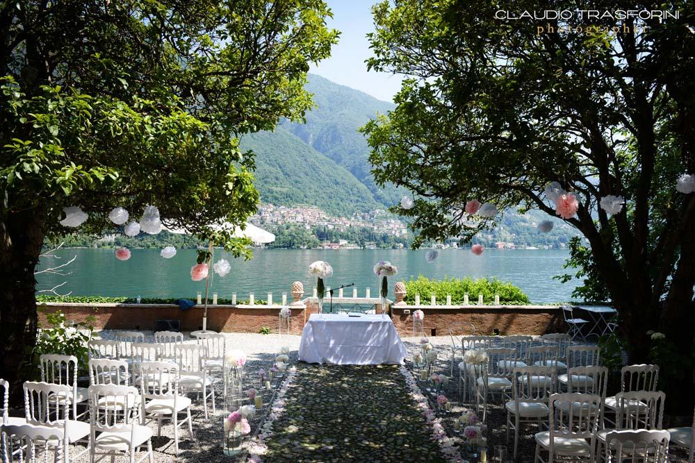 Lake Como Wedding Ceremony