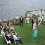 lake Como Wedding ceremony Villa Teodolinda