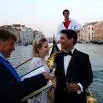 Symbolic Ceremony Wedding celebrant Venice Wedding Gondola