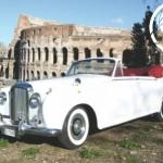 Classic Car Rome Wedding